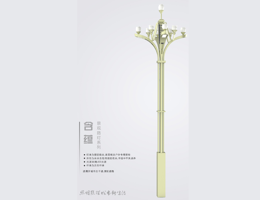 LED Landscape lamp-Hanyun